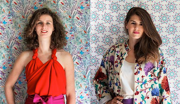 Alice et Camille , les deux créatrices