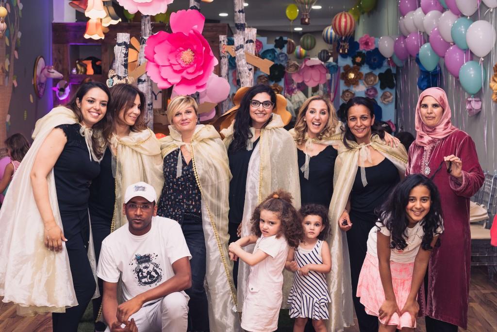 The amazing team of Wonderland - Kids Concept Store of Casablanca